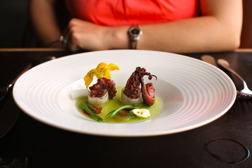 Charred Spanish Octopus
