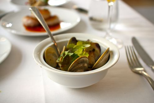 Garlic Littleneck Clams