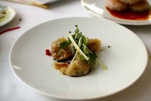 """""""Szechuan Dan Dan"""" dumpling"""