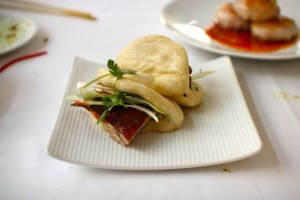 Duck bao buns