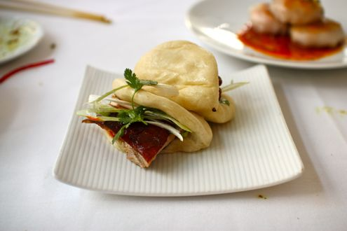 Duck bao buns