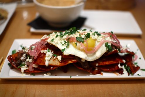 Peking Duck Chilaquiles