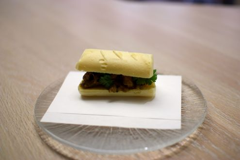 Pig tail curry Panini