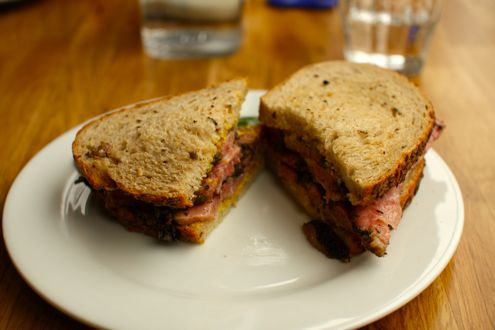 DGS 8 Day Pastrami Sandwich