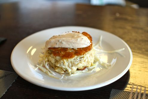 Crab cake