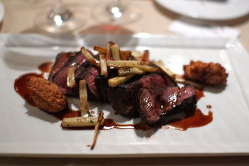 Mocha Cervena venison 