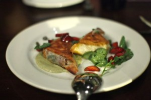 Roasted duck phyllo pie