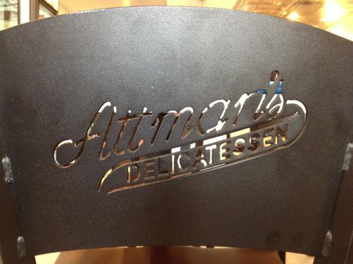Attman's personalized chairs