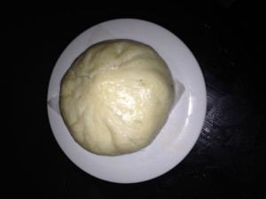 Steamed pork bun