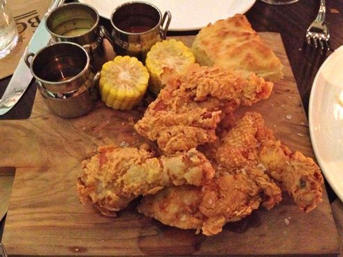Fried Chicken at Boss Shepherd's