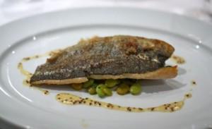 Pan-roasted Carolina mountain trout