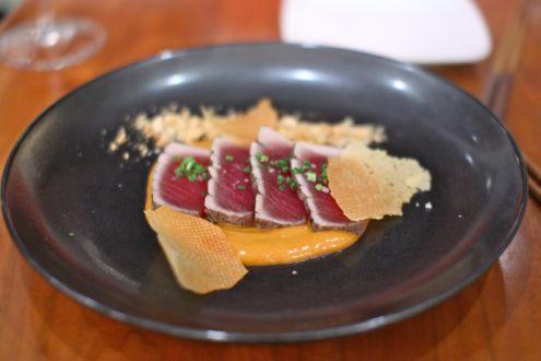 Big-eye tuna tataki