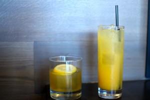 Bulleit Bourbon Lemonade and Joe's Margarita