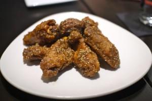 Japanese fried chicken wings