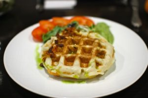 Green Egg McWaffle.