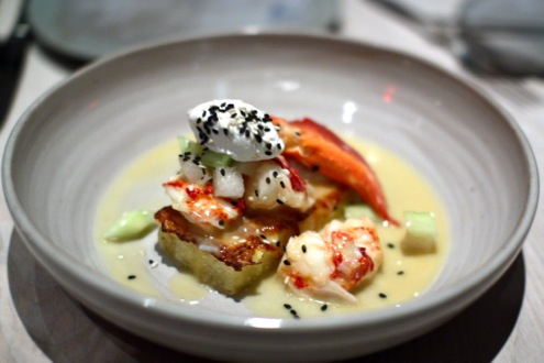 Maine lobster French toast