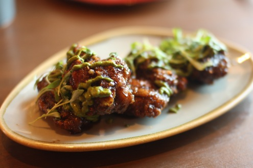 Korean-style fried wings